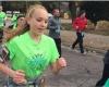 Здоровая 16-летняя девушка падает замертво после пробега в марафоне